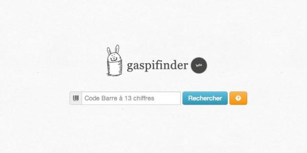 Gaspifinder - moteur de recherche