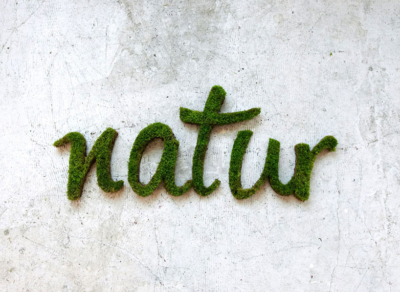 Anna Garforth Green Graffiti