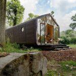 Wikkelhouse, une maison innovante et modulaire en carton recyclé